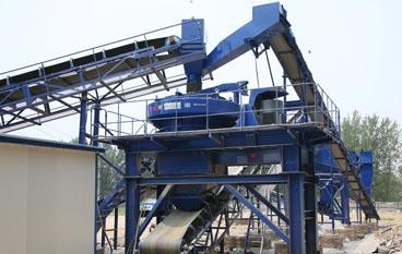 广西来宾时产100吨石灰石制砂生产线