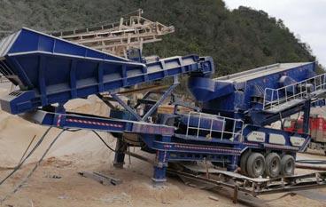 山东石灰石移动式制砂站项目