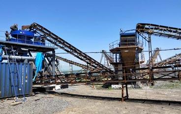 贵州清镇市铝钒土破碎筛分系统