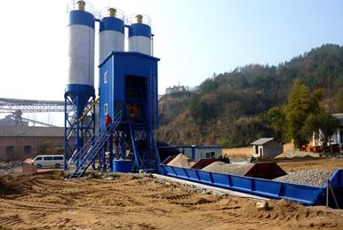 制砂机厂家介绍提高混凝土搅拌站产量的的有利方法