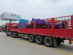 广东潮州碎石制砂生产线发货