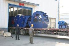 正升重工小型制砂生产线发往江西赣州用户现场