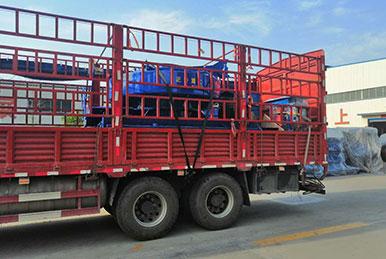 正升重工制砂机发往湖南衡阳用户现场