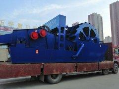 洗砂回收一体机发往郑州用户现场