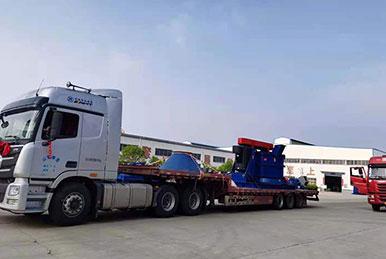 复合式制砂生产线发往徐州用户现场