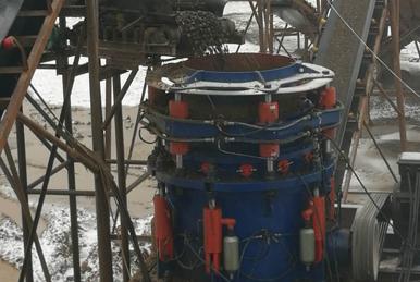 移动破碎站厂家关于HP系列圆锥破碎机的各构件特点介绍
