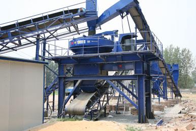 复合式制砂机厂家介绍大型采石场生产线要什么设备?